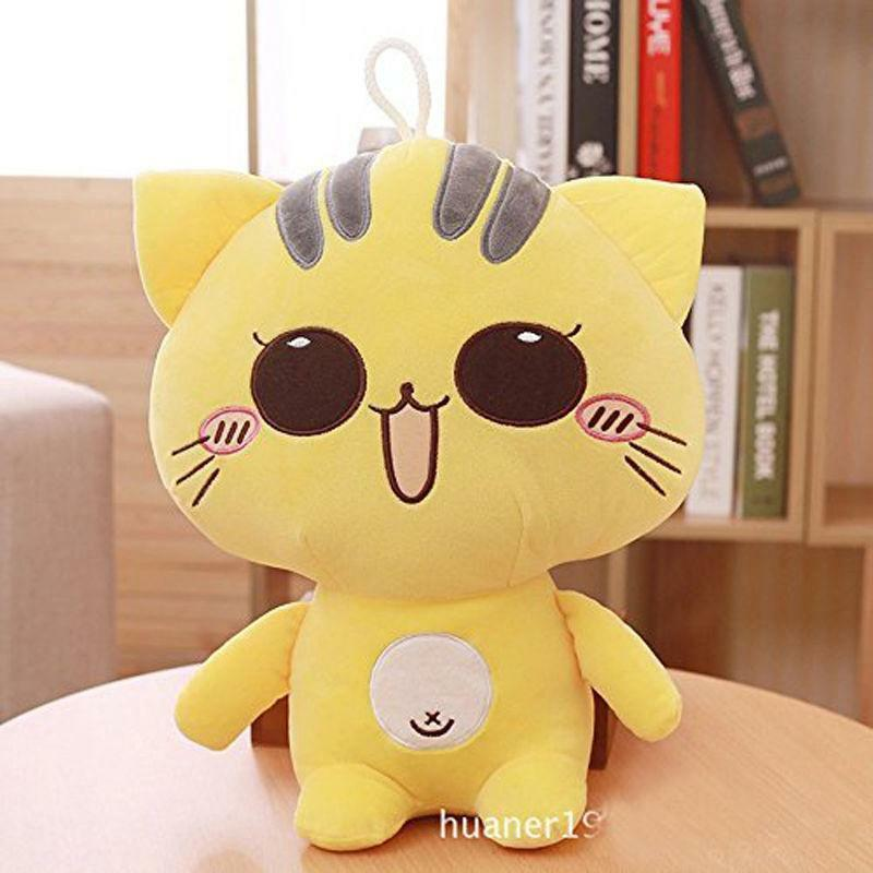 23'' Funny Big Plush Smile Cat Giant Large Stuffed Soft Toy Doll Pillow kid gift