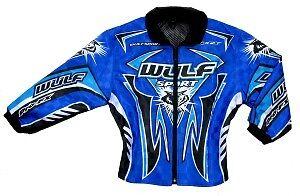 """Wulfsport blue force ten cub ride jacket size 34/"""" motocross motorbike MX leisure"""