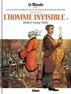 L-039-homme-invisible-2-Le-monde-Glenat-Par-Dobbs-Regnault-Neuf