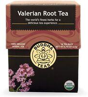 Valerian Root Tea, Buddha Teas, 18 Tea Bag 1 Pack