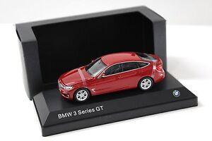 1-43-Paragon-BMW-3er-3-Series-GT-f34-Red-SP-Dealer-New-chez-Premium-modelcars