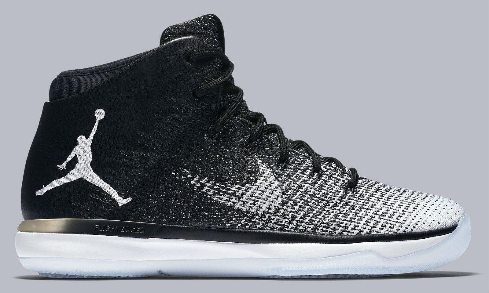 Nike air jordan xxxi uomini / bianco / lupo grigio nero dimensioni nuove clausole