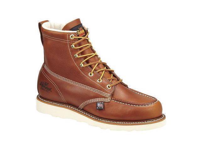 Thgoldgood Mens 6  Steel Toe Wedge Sole Boot (U.S.A. Made) 804-4200