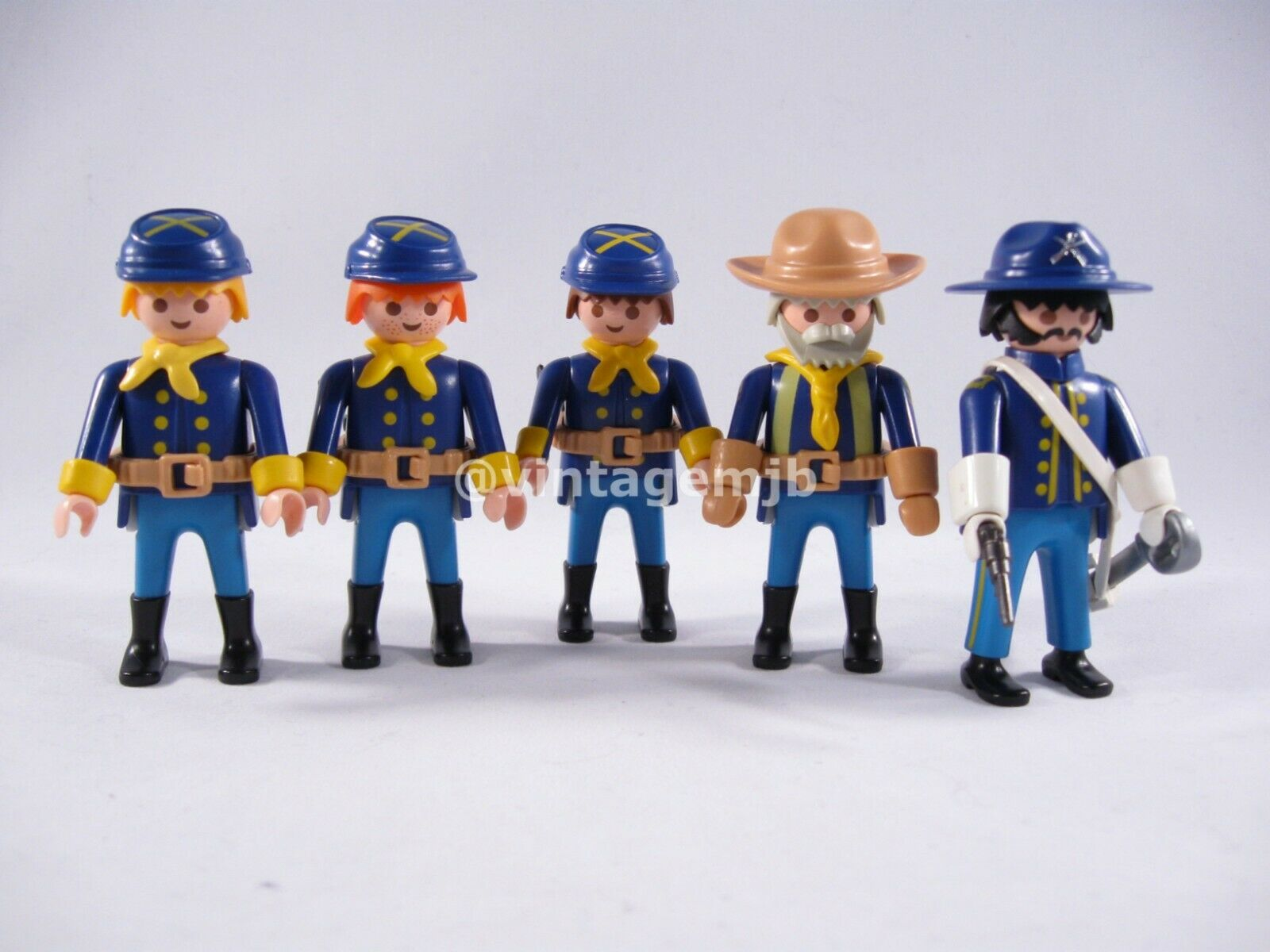 negozio fa acquisti e vendite PLAYMOBIL VINTAGE 3806 3806 3806 FORT GLORY MILITARY-completare SET OF SOLDIERS -EXCELLENT   marchio famoso