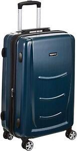 AmazonBasics Hartschalen-Trolley - 68 cm, Blau Navy Dark Blue NEU