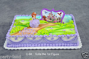 Sofia The First Birthday Cake Topper Uk