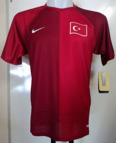 TURKEY FOOTBALL 200708 HOME SHIRT BY NIKE SIZE SMALL BRAND NEW WITH TAGS