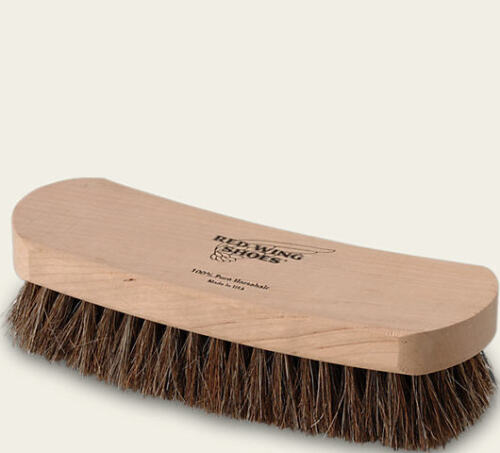 Red Wing Shoes Boots Horsehair Buffing Brush Redwing Heritage 6¾ inches Long