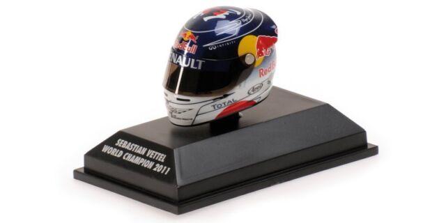 Minichamps Arai Casco Sebastian Vettel Campione Del Mondo 2011, 1:8 Formula 1