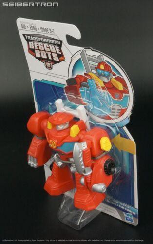 Feature Bot HEATWAVE FIRE BOT action figure Transformers Rescue Bots 2015 New