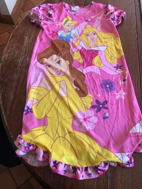 Disney Princess Nightgown Sleepwear Size Medium