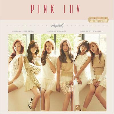 K Pop APINK Pink LUV 5th Mini Album CD+Photobook+Photocard
