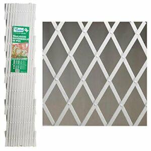 Tralicci-Traliccio-Rete-Estensibile-PVC-Verde-2x1-3x1-4x1-Mt-Piante-Giardino