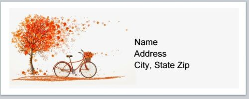 Personalized Address labels Fall Autumn Buy 3 get 1 free p 121