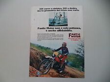 advertising Pubblicità 1977 MOTO FANTIC CABALLERO 50 TX 290/291