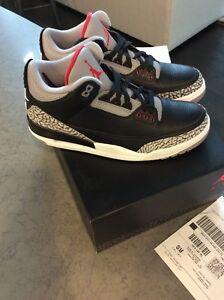 Autentico Black Og 3 Jordan recibo 10 Iii Nike o Retro w Cement Air 5; Tama gRSxqn4