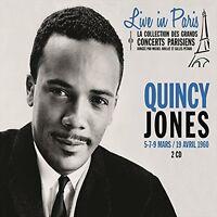 Quincy Jones - Live In Paris 5 7 & 9 Mars/19 Avril [new Cd] France - Import on sale