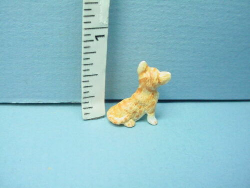 #A3459OR Orange /& White Miniature Kitten Falcon 1//12th