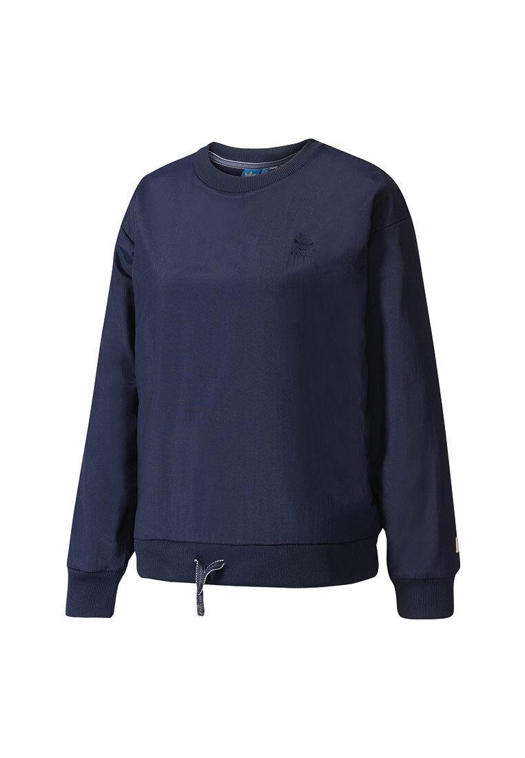 Adidas Sweatshirt Women Sweatshirt BK6098 Dark bluee