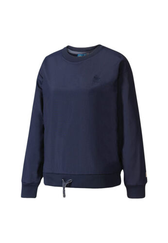 Scuro Felpa Bk6098 Blu Donne Adidas n6XA8qS6