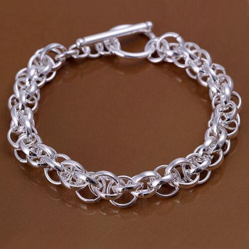 Damenarmband Anker-Flecht-Armband 20 cm Damen pl mit Sterlingsilber DA122 T::A