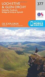 OS-Explorer-Map-377-Loch-Etive-and-Glen-Orchy-by-Ordnance-Survey-Map-Book