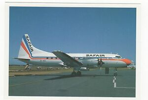 Safair Lines CV580 Aviation Postcard A718 - Malvern, United Kingdom - IF THE GOODS ARE NOT AS DESCRIBED PLEASE RETURN WITHIN 14 DAYS OF RECEIPT FOR FULL REFUND. Most purchases from business sellers are protected by the Consumer Contract Regulations 2013 which give you the right to cancel the purcha - Malvern, United Kingdom
