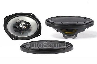 "Kenwood KFC-6965S 400 Watts 6"" x 9"" 3-Way Coaxial Car Audio Speakers 6""x9"" New"