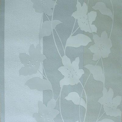 Vlies Tapeten *Rasch Natürlich Schön weiß grau Panel, Streifen, Unis (1,87 €/m²)