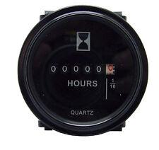 """12v 24v 36v Hour Meter for Marine Boat Engine 2"""" Round Gauge"""