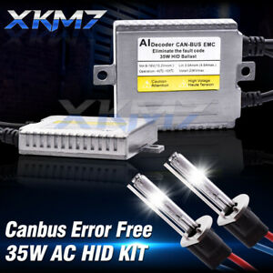 2x D2H HID Xenon Lamp LED Headlight Bulb Conversion Kit+2x 35W Universal Ballast