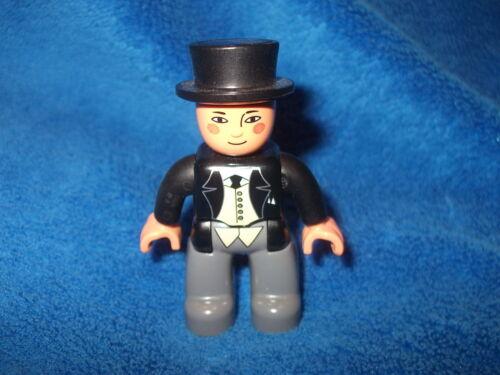 Lego Duplo Thomas /& amigos del espesor inspector de 3353 maquinista como nuevo