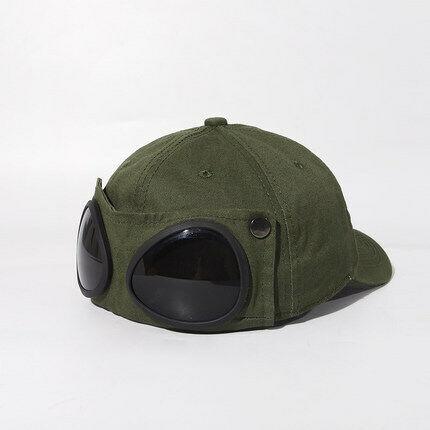 Aviator hat personality glasses cap men//women sunglasses baseball cap summer