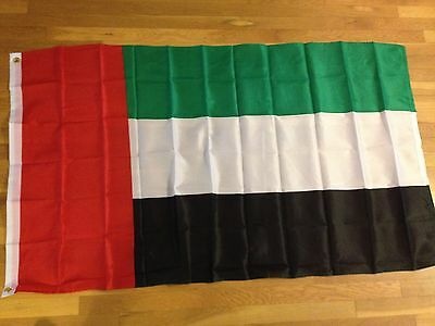 "UNITED ARAB EMIRATES  COUNTRY 4 X 6 MINI STICK FLAG WITH 10/"" PLASTIC POLE . NEW"