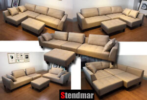 Strange Details About 4 Piece Taupe Microfiber Fabric Sectional Sofa Set S160T Ibusinesslaw Wood Chair Design Ideas Ibusinesslaworg
