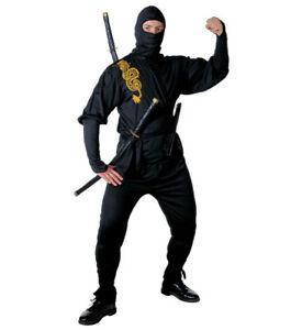 Costume-Carnevale-Uomo-Travestimento-Guerriero-Ninja-PS-19839