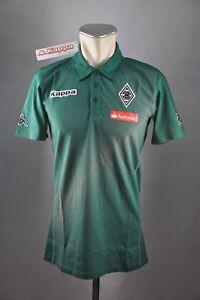 Borussia-Moenchengladbach-Polo-Shirt-Gr-S-M-Kappa-Training-Neu-BMG-Trikot