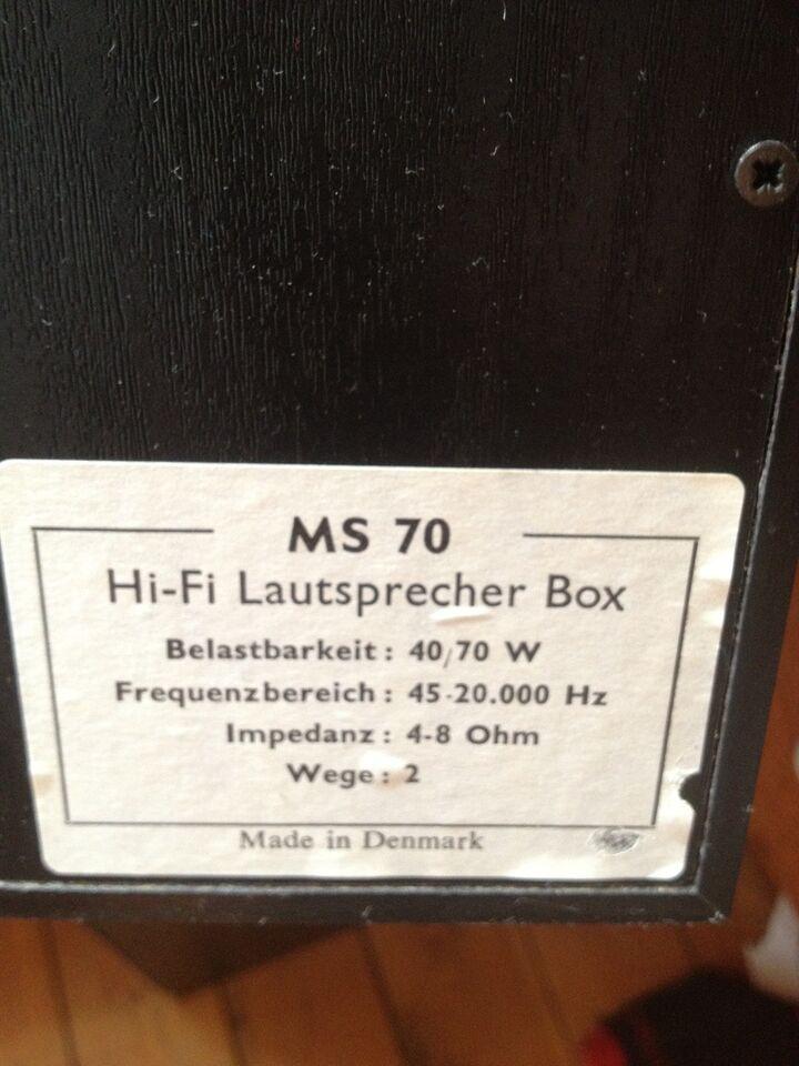 Højtalere, Eltax MS 70