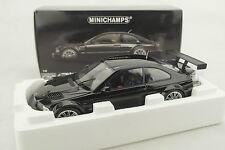 "1:18 Minichamps - BMW M3 GTR ""Street"" 2001 Black / Schwarz - Neu in OVP"