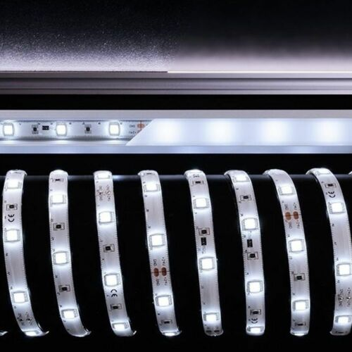 Schnittmöglichkeit alle 166 mm 5 LED, Flexibler LED-Stripe in tageslichtweiß