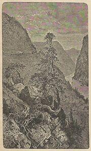 A4350 Apurè - Veduta - Incisione - Stampa Antica Del 1887