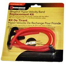 New! Marksman Laserhawk Slingshot Band Replacement w/Kit Talon Grip Pouch 3355