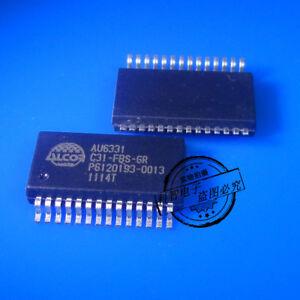 5X AU6331 AU6331C31-FBS-GR USB2.0 Card Reader Controller SSOP-28
