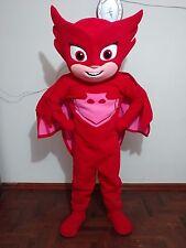 Disfraz ( botargas, mascot)  HERMOSO PJ MASK OWLETTE  traje para adultos