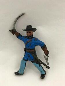LANDI Soldatini Confederato Sudista Nordista xiloplasto 1:32 toy soldier POSA 4