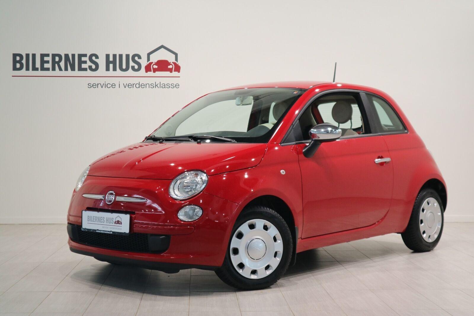 Fiat 500 1,2 Pop 3d - 54.880 kr.
