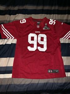 San Francisco 49ers Nike Smith Super Bowl Jersey KIDS Large 14/16 ...