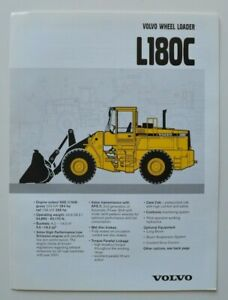 VOLVO-Wheel-Loader-L180C-1997-dealer-brochure-catalog-English-USA