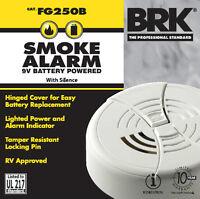12 Pk Brk First Alert Smoke Alarm 9v Battery Operated Fg250b