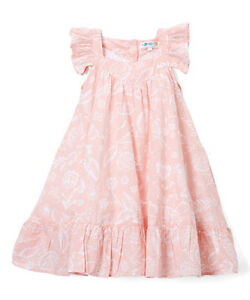 Image Is Loading Coyote Nwt Size 6 Pretty Peach Flower Ruffled